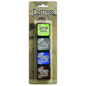 Ranger Distress Mini Ink Kit 14 TDPK46745 Tim Holtz