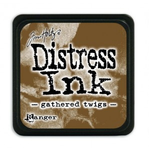 Ranger Distress Mini Ink pad - gathered twigs TDP40002 Tim Holtz