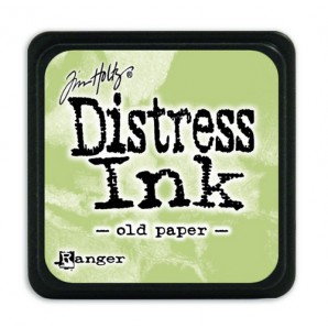 Ranger Distress Mini Ink pad - old paper TDP40057 Tim Holtz