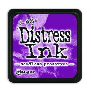 Ranger Distress Mini Ink pad - seedless preserves TDP40156 Tim Holtz
