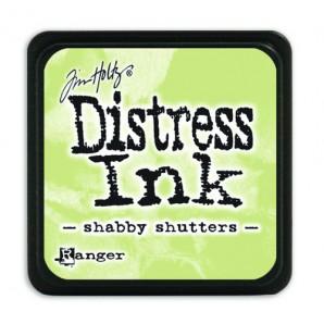 Ranger Distress Mini Ink pad - shabby shutters TDP40163 Tim Holtz