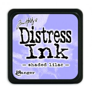 Ranger Distress Mini Ink pad - shaded lilac TDP40170 Tim Holtz