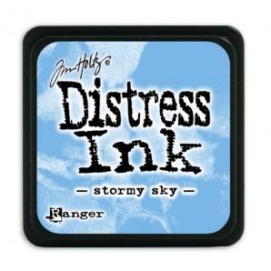 Ranger Distress Mini Ink pad - stormy sky TDP40217 Tim Holtz