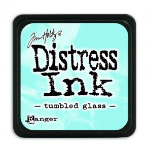 Ranger Distress Mini Ink pad - tumbled glass TDP40248 Tim Holtz