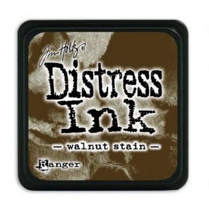 Ranger Distress Mini Ink pad - walnut stain TDP40279 Tim Holtz