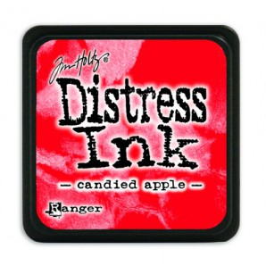 Ranger Distress Mini Ink pad - candied apple TDP47391 Tim Holtz
