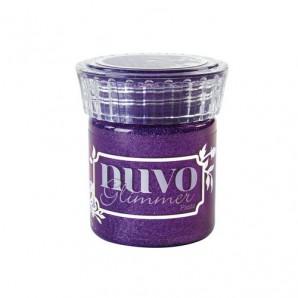 Nuvo glimmer paste - amythyst purple 956N