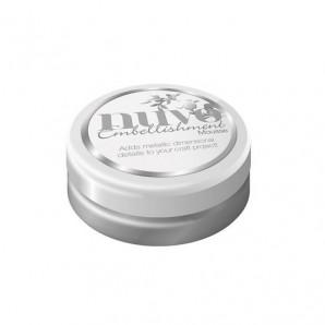 Nuvo embellishment mousse - pure platinum 803N