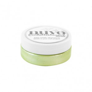 Nuvo embellishment mousse - spring green 808N