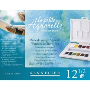 Sennelier La Petite Aquarelle set 12 halve napjes N131680.00