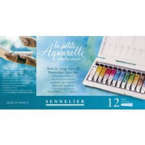 Sennelier La Petite Aquarelle set 12 tubes a 10ml N131682.00