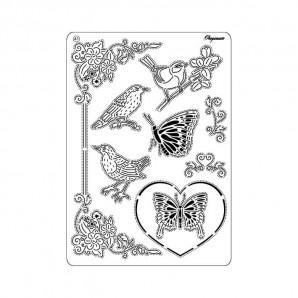 Multi grid 41 Vogels en Vlinders