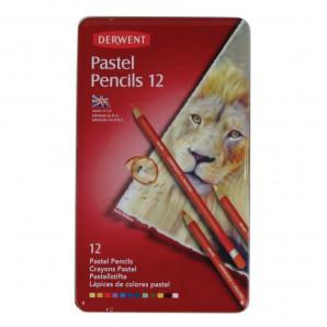 Derwent Pastel Pencil 12 st blik DPP32991 (07-17)