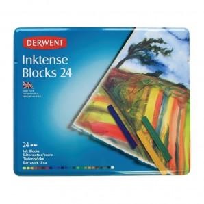 Derwent Inktense blocks 24 st blik DIB2300443 (07-17)