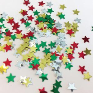 Confetti ster assorti 10gr 12421-2106