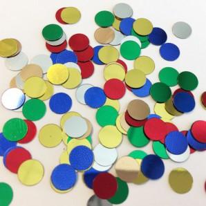 Confetti cirkels assorti 10gr 12421-2107