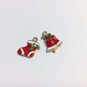 Kerst Bedels Kerstsok & Bel 12422-2205