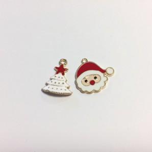 Kerst Bedels Kerstman & Kerstboom 12422-2207