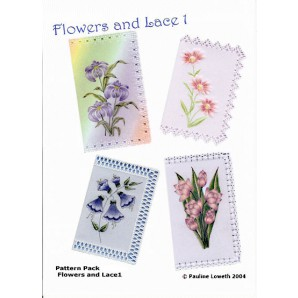 Pattern Pack Flowers and Lace 1
