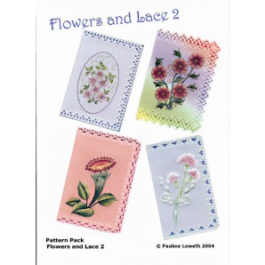 Pattern Pack Flowers and Lace 2