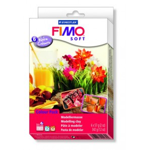 Fimo Soft set Trend pack Warm colours 6x57gr 8023 03