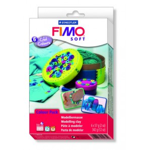 Fimo Soft set Trend pack Cool colours 6x57gr 8023 04