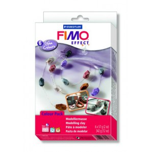 Fimo Soft set Trend pack Glam colours 6x57gr 8023 06