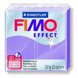 Fimo Effect parelmoer lila 57 GR 8020-607
