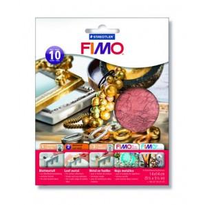 Fimo Bladmetaal koper 10 vel 8781-26