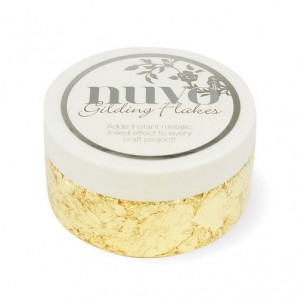Nuvo gilding flakes (200ml) - radiant gold 850N