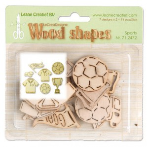 LeCrea - Wood shapes Sports 71.2472  (08-16)