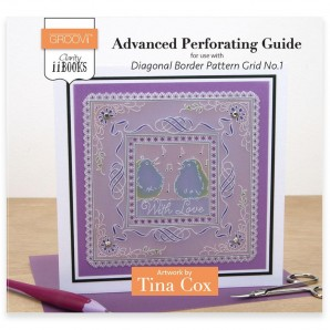 CLARITY II BOOK: ADVANCED PERFORATING GUIDE DIAGONAL BORDER PATTERN GRID NO.1