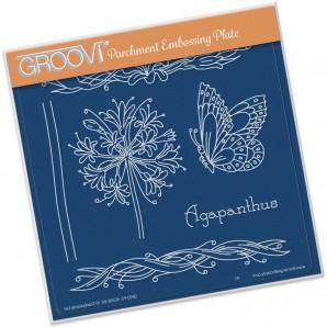 Groovi Plate Jayne's Agapanthus Name