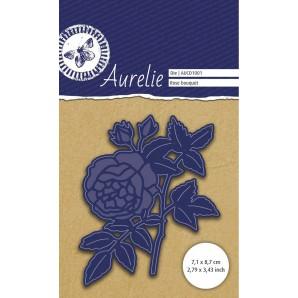 Aurelie Rozenboeket Snij- & Embossingsmal AUCD1001