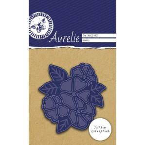 Aurelie Viooltjes Snij- & Embossingsmal AUCD1003