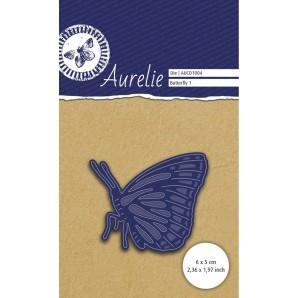 Aurelie Vlinder 1 Snij- & Embossingsmal AUCD1004