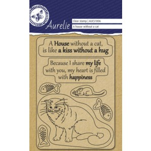 "Aurelie  Clear stempel ""A house Whitout"""