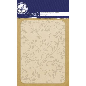 Aurelie embossing folder Blossoming Vine Background