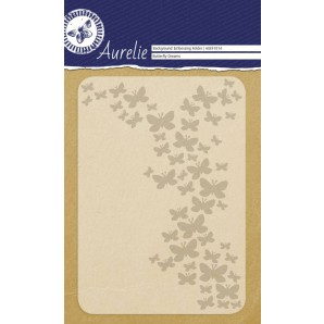 Aurelie embossing folder Butterfly Dreams Background