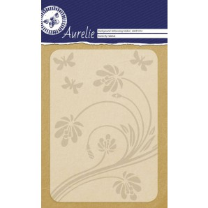 Aurelie embossing folder Habitat Background