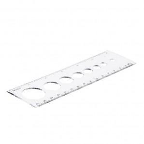 Aurelie Circle Size Ruler 15 cm / 6 inch