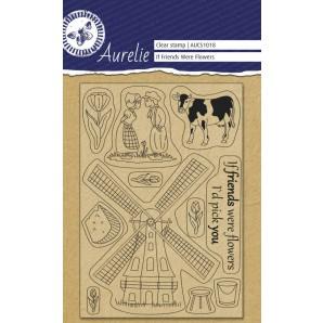 Aurelie Clear Stamp If Friends Were Flowers