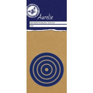 Aurelie Stitched Circle Mini Nesting Die