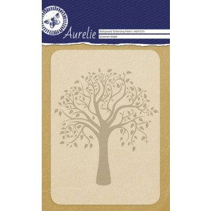 Aurelie embossing folder Sycamore Maple Background