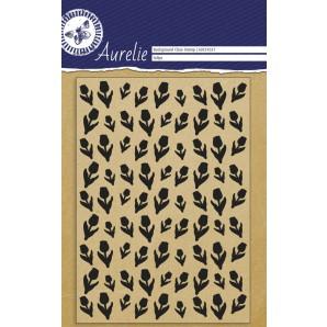 Aurelie Clear Stamp Tulips Background