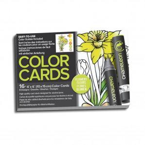Chameleon Color Cards Flowers