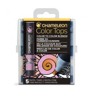 Chameleon Color Tops Pastel Tones