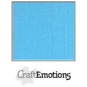 CraftEmotions linnenkarton 10 vel aqua LHC-26 A4 250gr