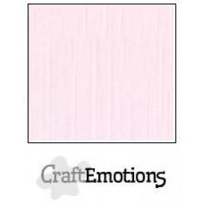 CraftEmotions linnenkarton 10 vel babyroze LHC-18 A4 250gr