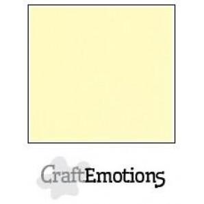 CraftEmotions linnenkarton 10 vel geel LHC-32 A4 250gr